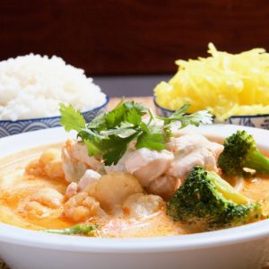 Kurczak Red Curry